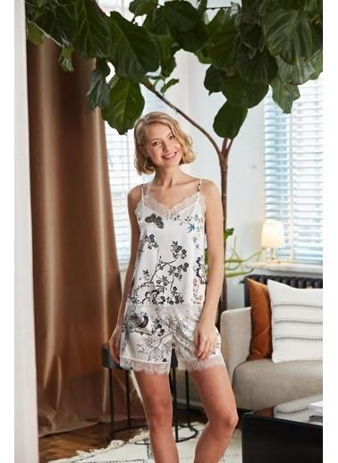 Catherines Pijama Takım Beyaz